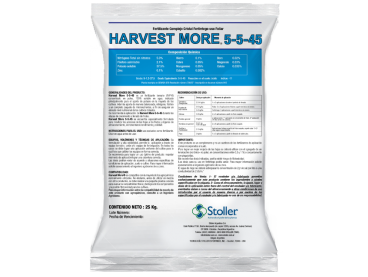 Fertilizante Harvest More® 5-5-45