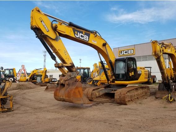 Excavadora JCB modelo JS330 año 2012