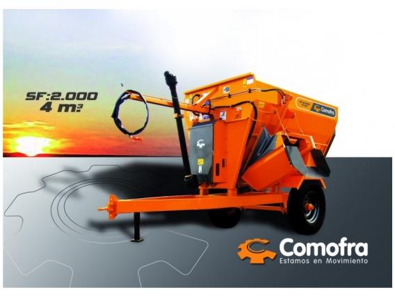 Mixer Horizontal Comofra SF-2000