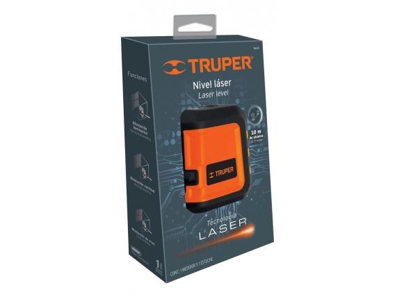 Nivel Laser Linea Roja 10mts Truper Nl-10