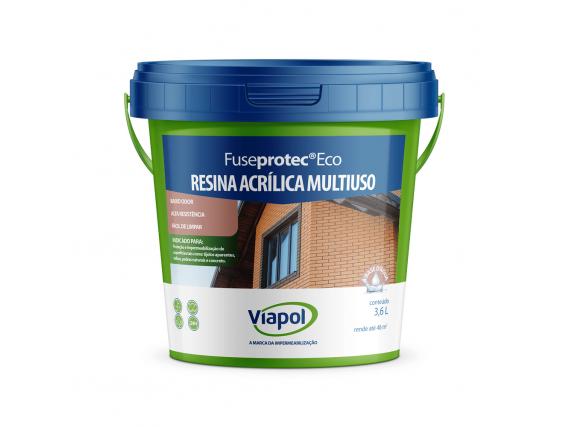 Resina Acrilica Multiuso Fuseprotec Eco 3.6 Lt