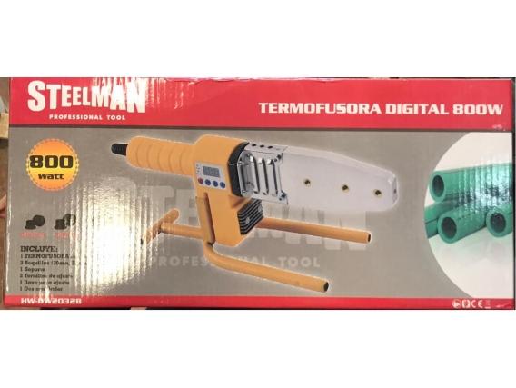 Termofusora Steelman Digital 800w