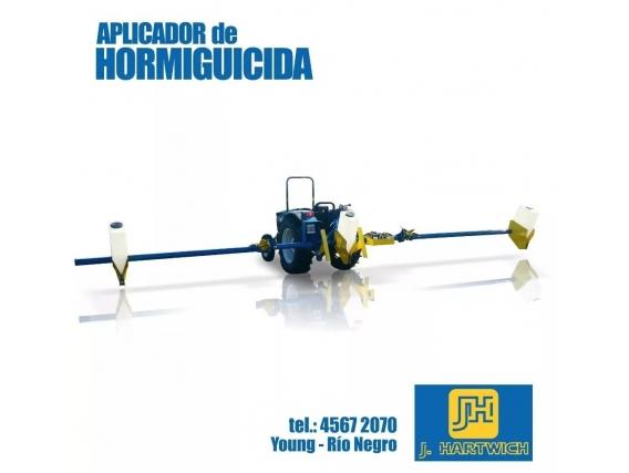 Aplicador Hormiguicida Granulado J. Hartwich