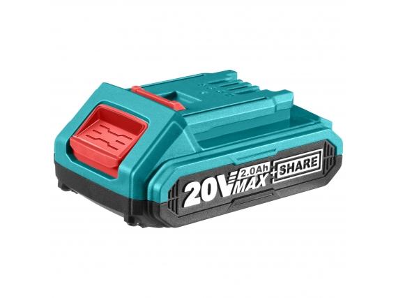 Batería Total Línea 20V - 2.0Ah Litio Ion