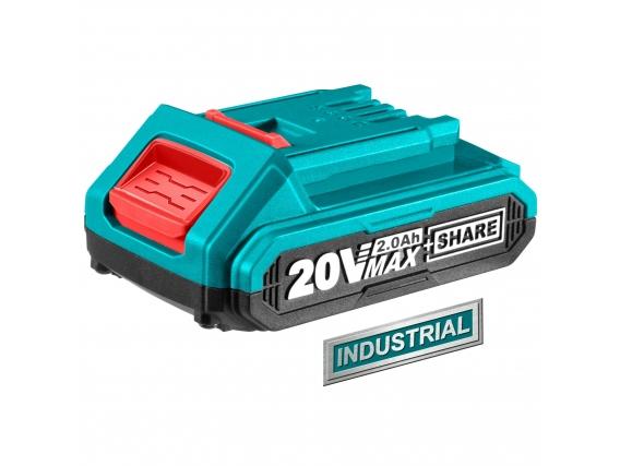 Batería Total Línea 20V - 2.0Ah Litio Ion - Industrial
