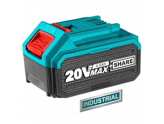 Batería Total Línea 20V - 4.0Ah Litio Ion - Industrial