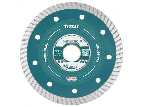 "Disco Diamantado 4.1/2"" 115Mm Total - Turbo, Fino"