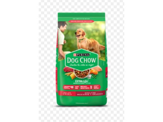 Dog Chow Adulto Mediano Y Grande 21 Kg