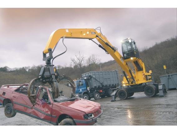 Excavadora Jcb Js200W