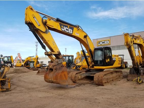 Excavadora Jcb Js330 Año 2012