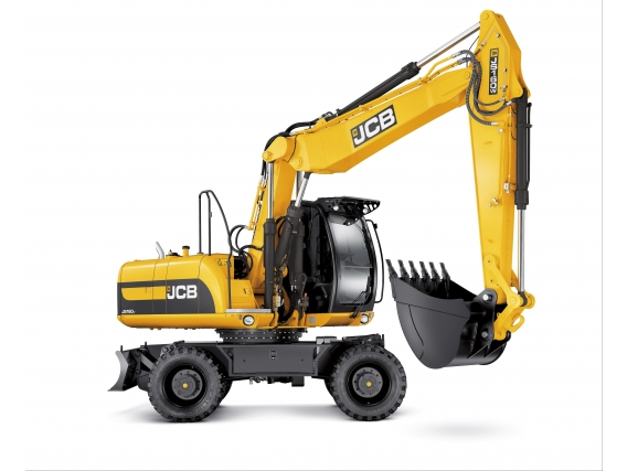 Excavadora Sobre Orugas Jcb Js160W