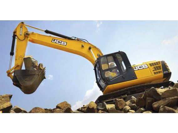 Excavadora Sobre Orugas Jcb Js205