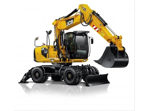 Excavadora Sobre Orugas Jcb Js175W