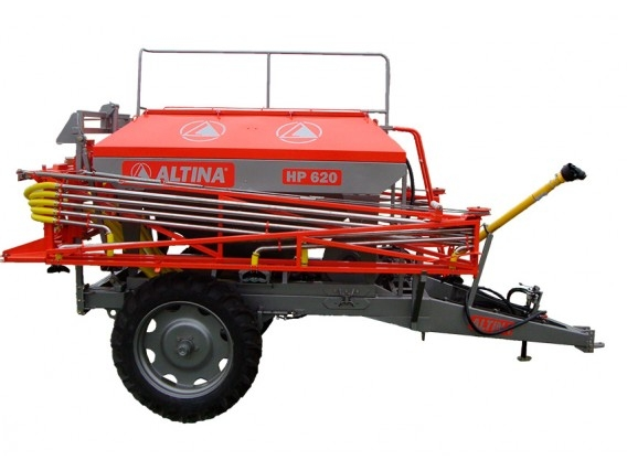 Fertilizadora De Arrastre Altina Hp 620