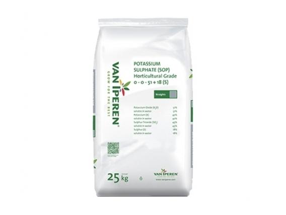 Fertilizante Van Iperen Sulfato De Potasio Grado Horticola