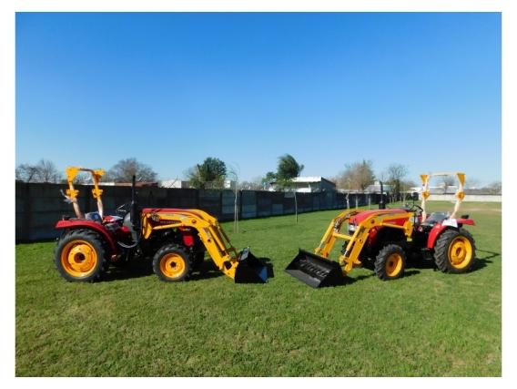 OM-180-F Pala Frontal 1/4M3 para Tractores de 20 A 40Hp