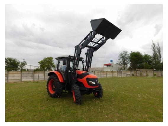 Pala Frontal Hidráulica OM-260 para Tractor Hanomag TR 85