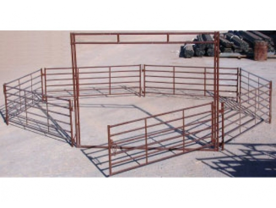 Panel Y Puerta Para Ovinos Mecano Ganadero