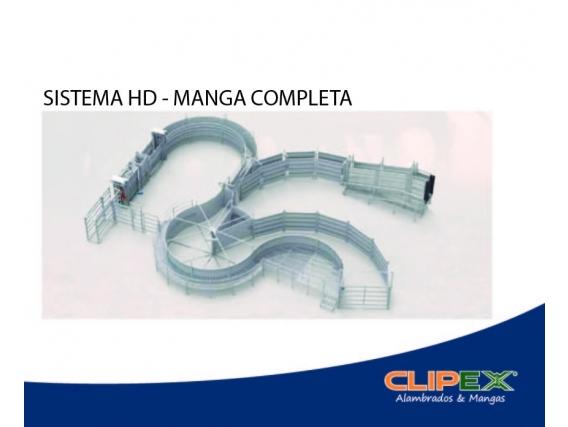 Sistema Hd - Manga Completa