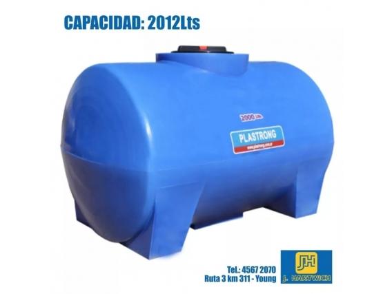 Tanque Plástico Cilíndrico Plastrong 2012 Lts.