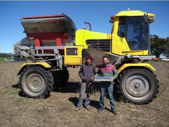 Tolva Fertilizadora Fertec 3000 Litros Para Montar