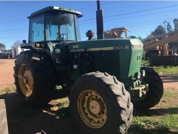 Tractor Agrícola Usado Jd 4055