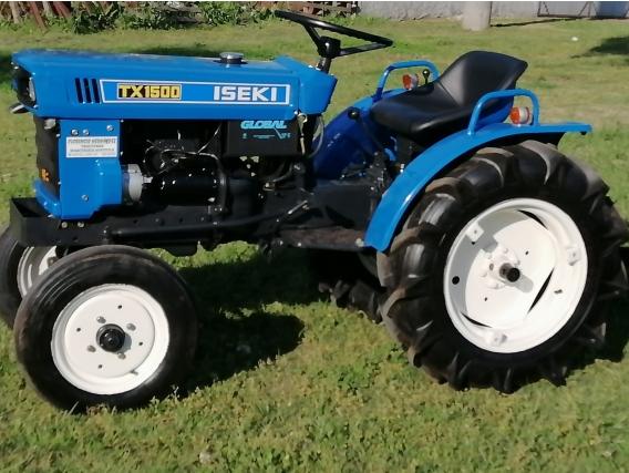 Tractor Iseki Tx 1500 2 Cilindros 18 Hp