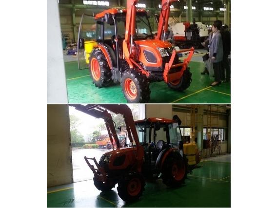 Tractor Kioti Dk55 Frutero