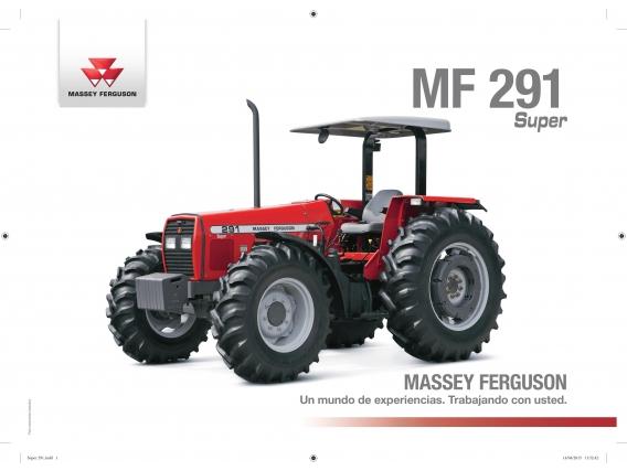 Tractor Massey Ferguson 291 4X4