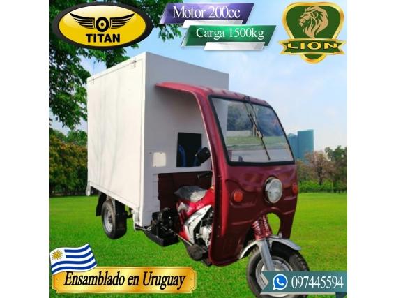 Triciclo Furgon Food Truck