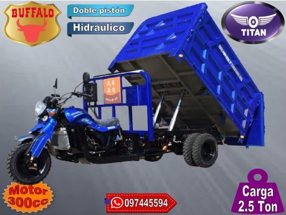 Triciclo Utilitario Volcadora 2.5 Ton