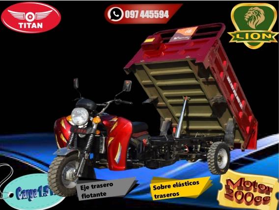 Triciclo Utilitario Volcadora 1.5 Ton
