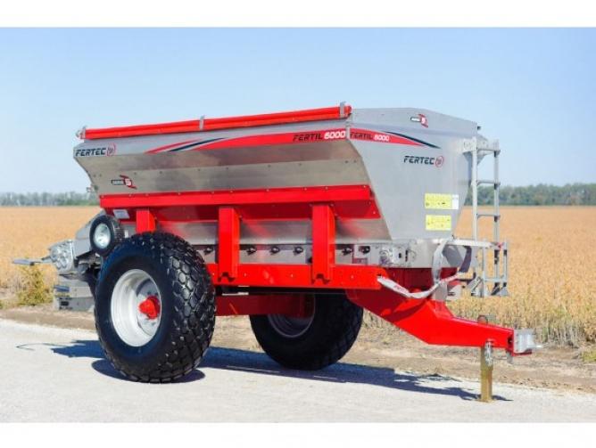 Fertilizadora Al Voleo Fertec 6000 Litros